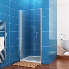 76x185 cm duschabtrennung duschwand nischentr dusche schwingtr echtglas - Dusche Nischentur 85 Cm