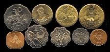 SWAZILAND 1975-03 9 PC COIN SET KM21-53 UNCIRCULATED