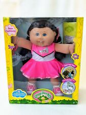 New Cabbage Patch Kid Doll Tabitha Lorraine in Pink Cheerleader Dress Brown Hair