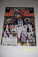 2011 Sports Illustrated AUBURN Tigers BCS NATIONAL CHAMPIONS Cam NEWTON #1