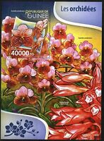 GUINEA 2015 ORCHIDS  SOUVENIR SHEET MINT NH