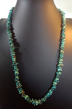 Turquoise Blue Green Coral Statement Necklace Jewelry