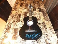 Michael Nesmith Rare Autographed Signed Acoustic Guitar The Monkees + Photo COA