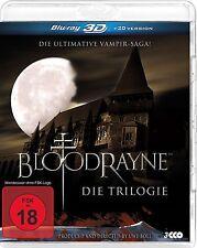 Bloodrayne Trilogy 1 2 3 - Deliverance ,The Blood Reich ,3D +2D (Region B/UK)