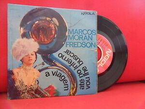 MARCOS MORAN / FREDSON 7/45 EP BOSSA NOVA BRAZIL GROOVE Samba Rock NGOLA RARE