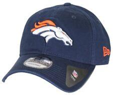 Denver Broncos New Era 9 Core Clásico Ajustable Sombrero de NFL veinte-Azul  Marino 8bfa143cdf4