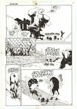 Impulse #13 p.11 - Impulse Rescue from Guard Dogs - 1996 art by Humberto Ramos