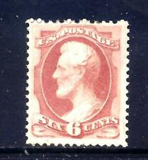US Stamps - #148 - MLH - 6 cent Lincoln Issue - CV  $900