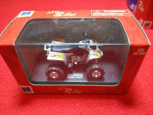 2004 New Ray Die Cast 1:32 Scale Honda Sporttrax 400EX ATV Hard Case Mini Bike 2