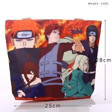 Naruto Anime Manga Tasche Tragtasche Handtasche 28X25cm Leinwand