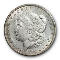 1879 S $1 Reverse of 1878 Morgan Dollar PCGS AU 50 About Uncirculated Cert#0832