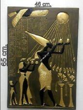 RELIEF ECHNATON SKULPTUR Stuck gips Ägyptisches Agypten Bajorrelieve Flachrelief