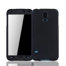 Samsung Galaxy S5/S5 Neo Cellphone Case Protective Armor Glass Black