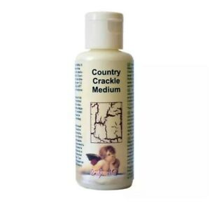 COUNTRY CRACKLE MEDIUM FOR DECOUPAGE AND CRAFTS