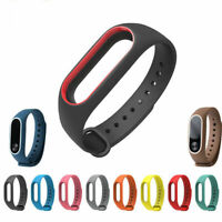 Replacement Silicone Bracelet Strap Wristband Wrist Band For Xiaomi Mi Band 2/3