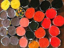 30 Rolls Bernat Tabriz Assorted Latch Hook Rug Yarn Polyester 360 pcs. each