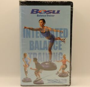 BOSU Balance Trainer VHS Instructional Video for Fitness & Health Professionals