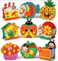 Handmade Eva Pen Holders Crafts Kids DIY for Pens Educational toy for Children *