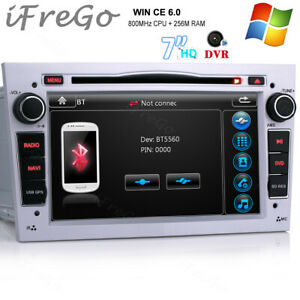 "Für OPEL Zafira Tigra Vivaro 7"" HD Autoradio DVD Navi USB RDS GPS Bluetooth DAB+"