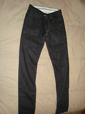 Andrew Buckler Jeans Narrow Slim Dark Blue Size 29  100% Cotton New w/Tags