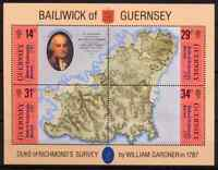 GUERNESEY 1987 - BLOC DUKE OF RICHMOND MNH
