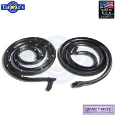 63-64 GM B Body Door Weatherstrip Seals 2 Door Hardtop Cvt LM20A Metro USA MADE