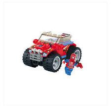 The building blocks Spiderman series 6004 educational toys