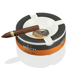 COHIBA Cigar Ashtray Home Ceramic Luxury Tobacco Ashtray 4 Rest Holder Ashray