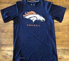 Denver Broncos Nike Dri-Fit Athletic T-Shirt Men s Size Small Navy Blue S 9f71b59e8