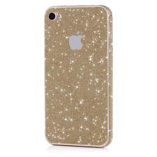 MC24® Glamour Skin Glitzerfolie für Apple iPhone 4/4s glitzer folie in bronze