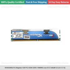 KHX8500D2/1G Kingston 1GB PC2-8500 DDR2-1066MHz non-ECC UnBuff CL5 (5-5-5-15)