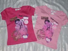 Magliette e maglie rosa a manica corta per bambine dai 2 ai 16 anni 100% Cotone