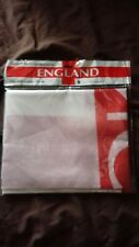 New in packet St George's cross England flag 5 x 3 feet