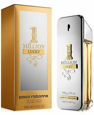one million lucky perfume by paco rabanne for men 100ml edt 3.4 oz spray nib