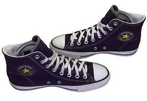 Converse Chuck Taylor All Star Pro High Top Grand Purple 166021c Men's Size 6.5