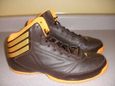 G98248 Men's Adidas Sample Shoes Size 9 BROWN ORANGE