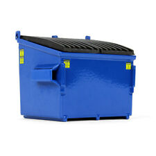 Brand New First Gear Die Cast Blue Split-Top Lid Refuse/Trash Bin 1/34 Scale IOB