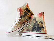Walking Dead, Daryl, Custom Made Canvas Shoes
