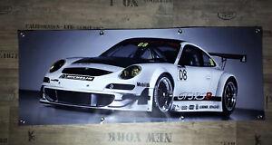 Werbe Banner für Porsche Fans / GT3 RS / turbo 996 991