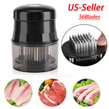 54 Stainless Steel Blade Meat Tenderizer Jaccard Style Knives Steak Chicken Tool