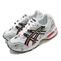 Asics Gel-1090 White Black Red Silver Men Casual Sportstyle Shoes 1021A285-100