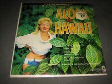 "1960 Harry Kaapuni & His Royal Polynesians ""Aloha Hawaii"" LP- Coronet CXS-43 EX"
