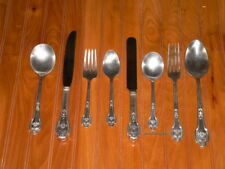 8 dif pieces silver plate flatware Fontainebleau Miami Kennedy Monroe Presley