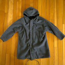 Vintage POLO HI TECH Ralph Lauren Reversible Fleece Fishtail Parka Ski Jacket S