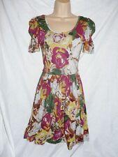 Short Sleeve Tunic Floral Dresses NEXT