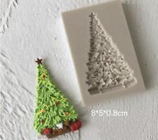Weihnachtsbaum matt Harz Resin Silikonform Fondant  Epoxidharz Seife Gießform