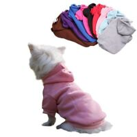 Pet Dog Hoodie Sweater Cat Jumper Coat Warm Dogs Clothes Puppy Apparel Costume