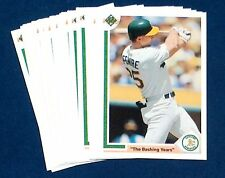 26 LOT 1991 UPPER DECK UD #656 MARK McGWIRE CARDS MINT