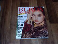 BURDA INTERNATIONAL  HERBST  3/1990 - DESIGNER-SCHNITTE