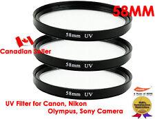 YellowKnife -3X Ultra 58mm UV Filter Lens for Canon,Nikon,Sony,Olympus,Panasonic